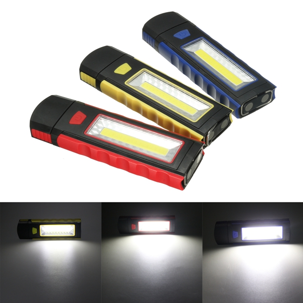 LED Magnet Torch Camping Lamp Tent Flashlight Emergency Inspection Work Light