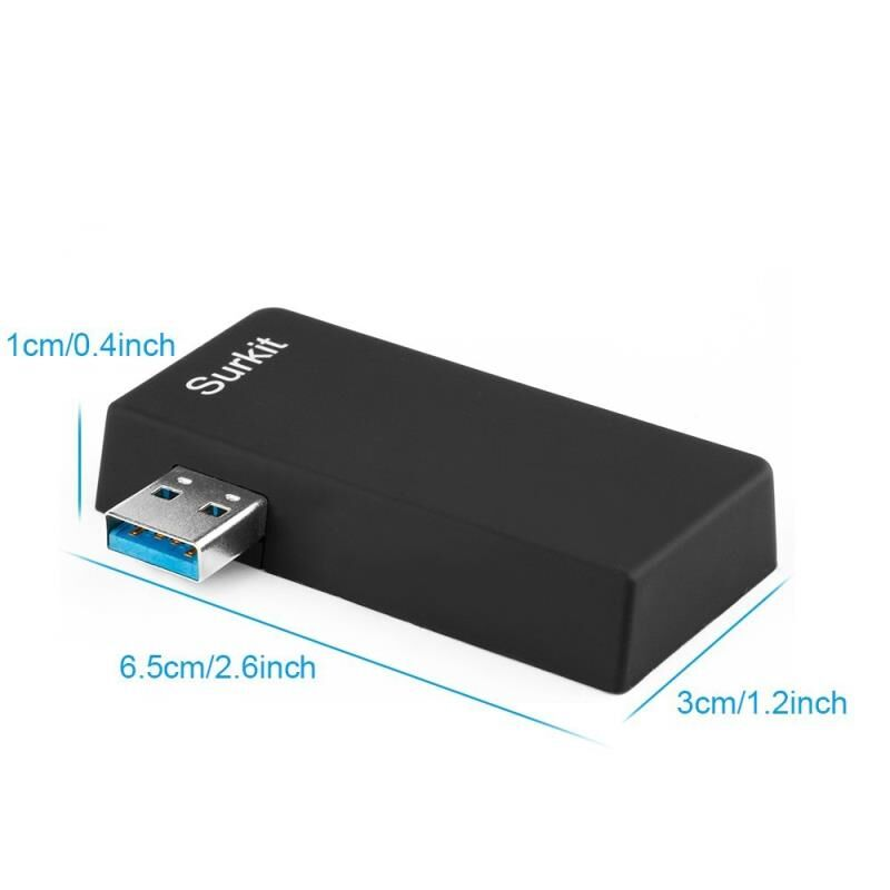 COMBO H509 Multifunctional Portable USB 3.0 HUB with SD Micro SD Card TF Card Reader