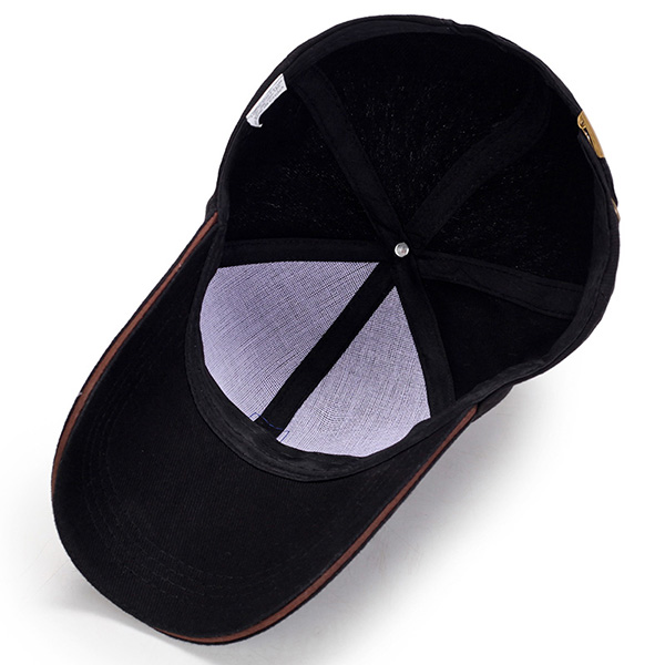 Mens Solid Color Cotton Baseball Cap Sports Golf Snapback Sunshade Hats Adjustable
