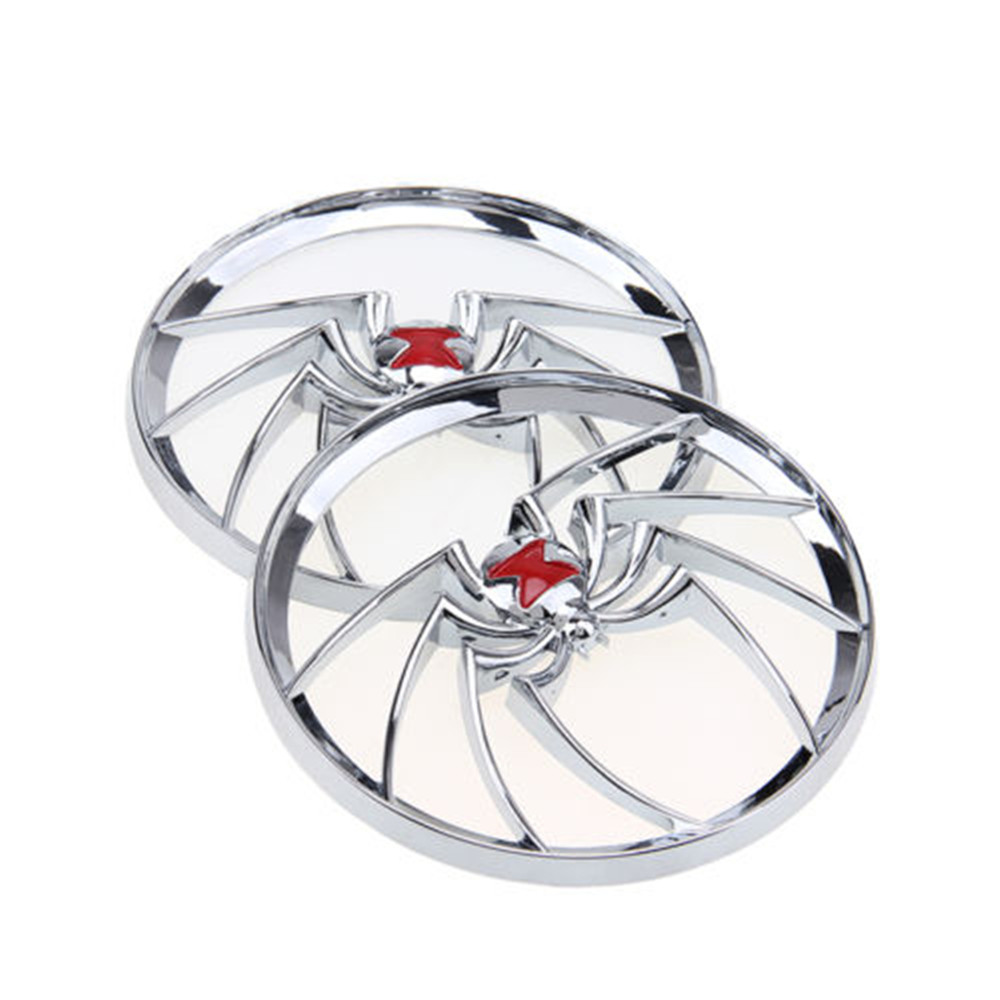 Motorcycle Chrome Speaker Grills Cover For Harley Touring Electra Street Glide 1996-2013