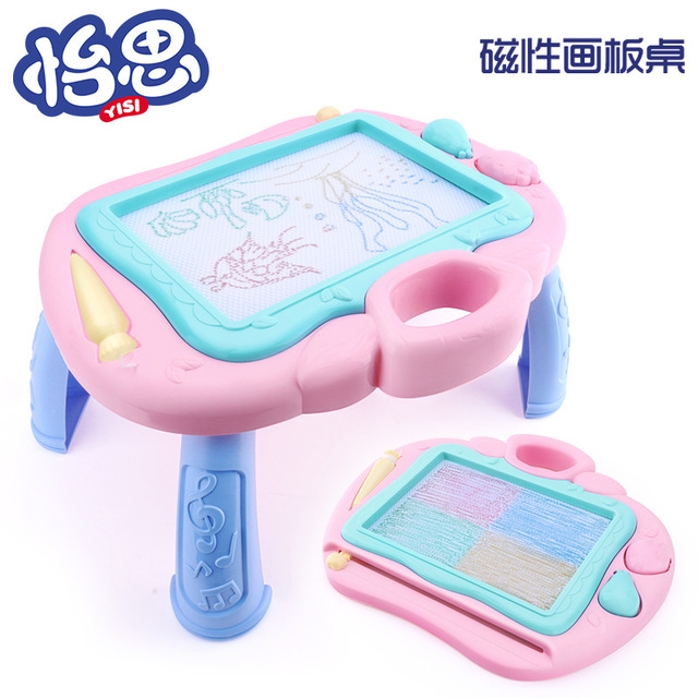 Children's Early Education Educational Toys Color Graffiti Magnetic Drawing Board Table Writing Board To Spread Hot Toys