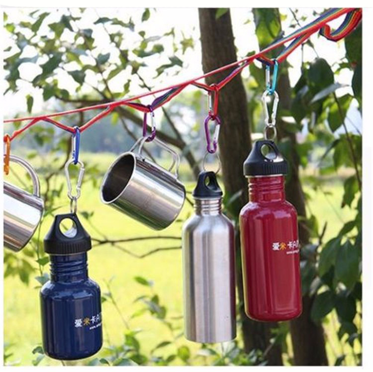 Outdoor 187cm Colorful Long Lanyard Webbing Tent Tree Hanging Rope Strap Camping Hiking
