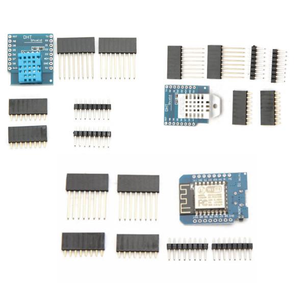 Wemos DHT11 Shield + DHT22 Shield + D1 Mini NodeMcu Lua WIFI ESP8266 Development Board