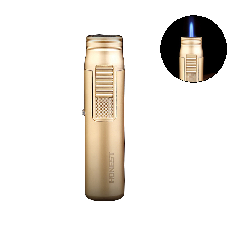 IPRee® Zinc Alloy Portable Outdoor Refillable Fuel Lighter Ignitor Starter