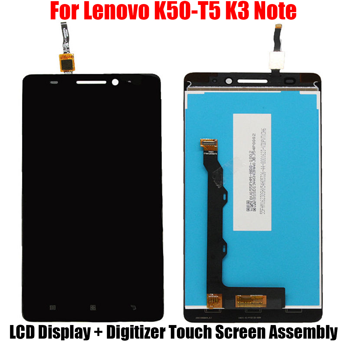 LCD Display+Touch Screen Digitizer Screen Replacement For Lenovo K50-T5 K3 Note JMHG