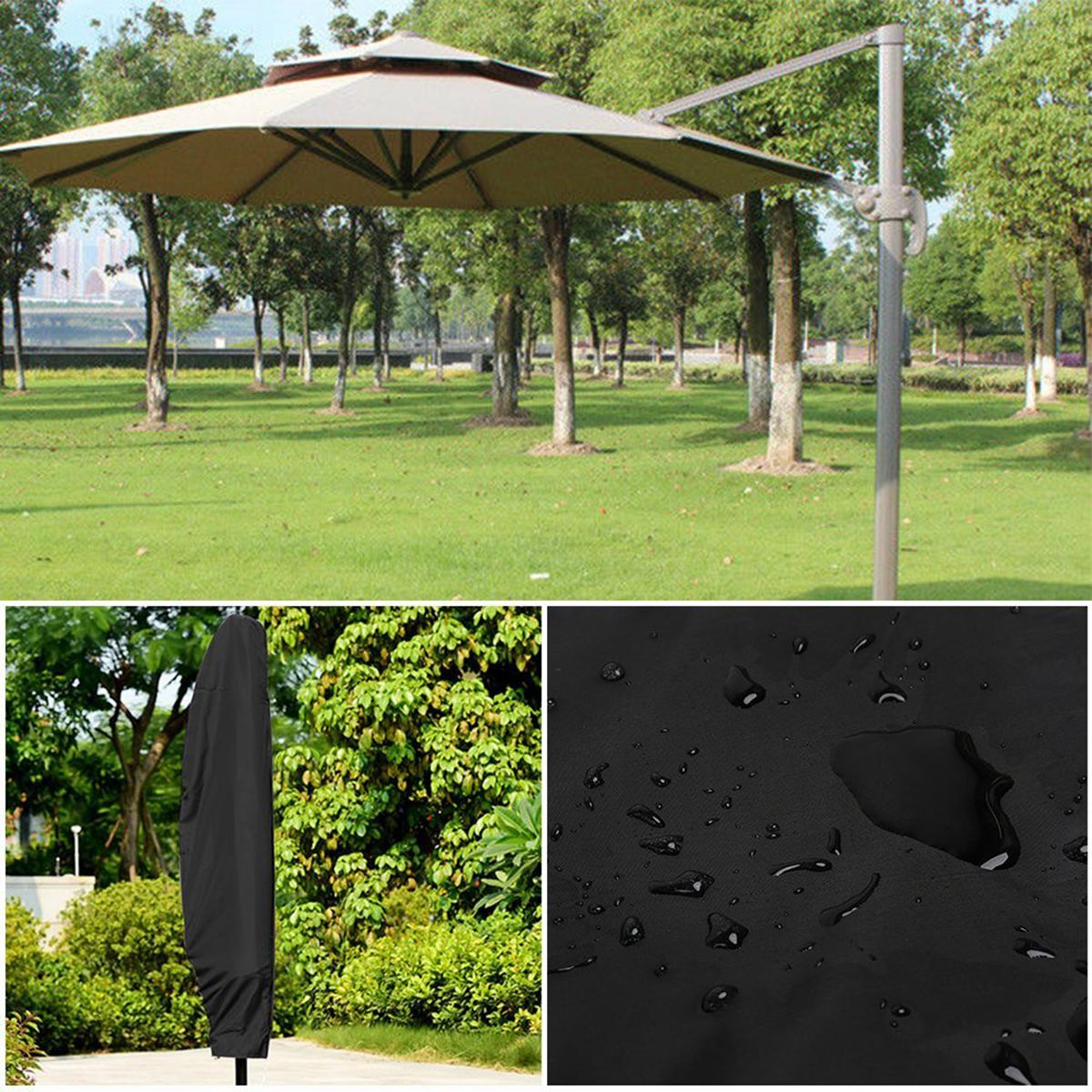 Garden Banana Umbrella Cover Outdoor Weatherproof Patio Cantilever Parasol