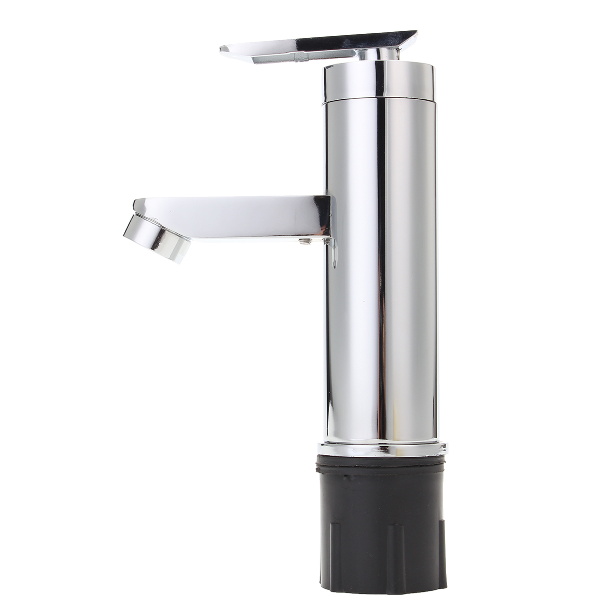 Brass Chrome Waterfall Bathroom Basin Faucet Single Handle Sink Cold & Hot Mixer Tap