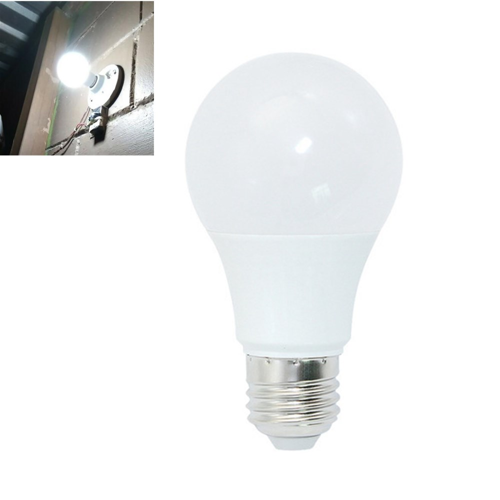 E27 12W Non-dimmable Pure White Constant Current 14 LED Globe Bulb for Indoor Home Use AC175-265V