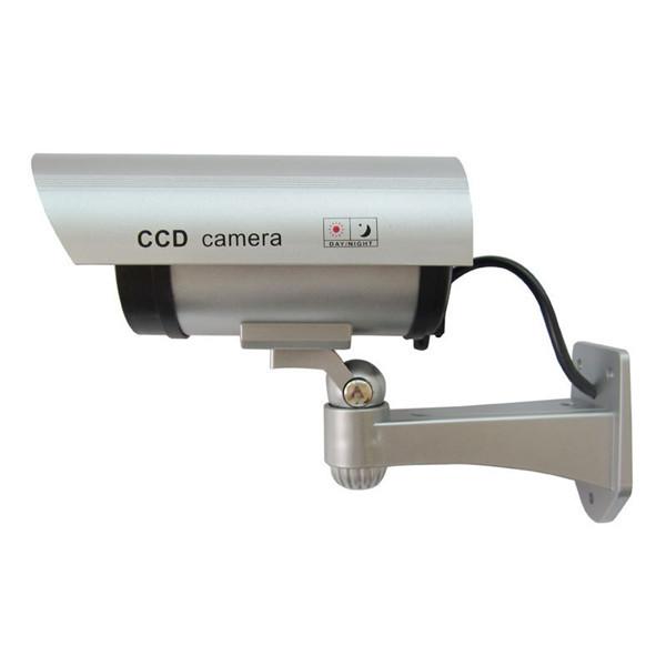 Camera Quan Sát An Ninh Ngoài Trời Chống Nước Ca-11-01 Dummy Fake Đèn Led Màu Đỏ Nhấp Nháy