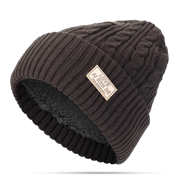 Mens Winter Warm Outdoor Sport Beanies Knitted Hats