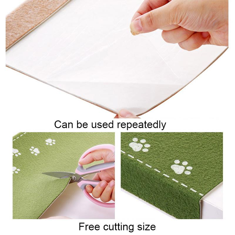 Honana WX-M3 Luminous Stair Mat Step Floor Carpet Easy Clean Door Anti Skid Mats Self-adhesion Rug
