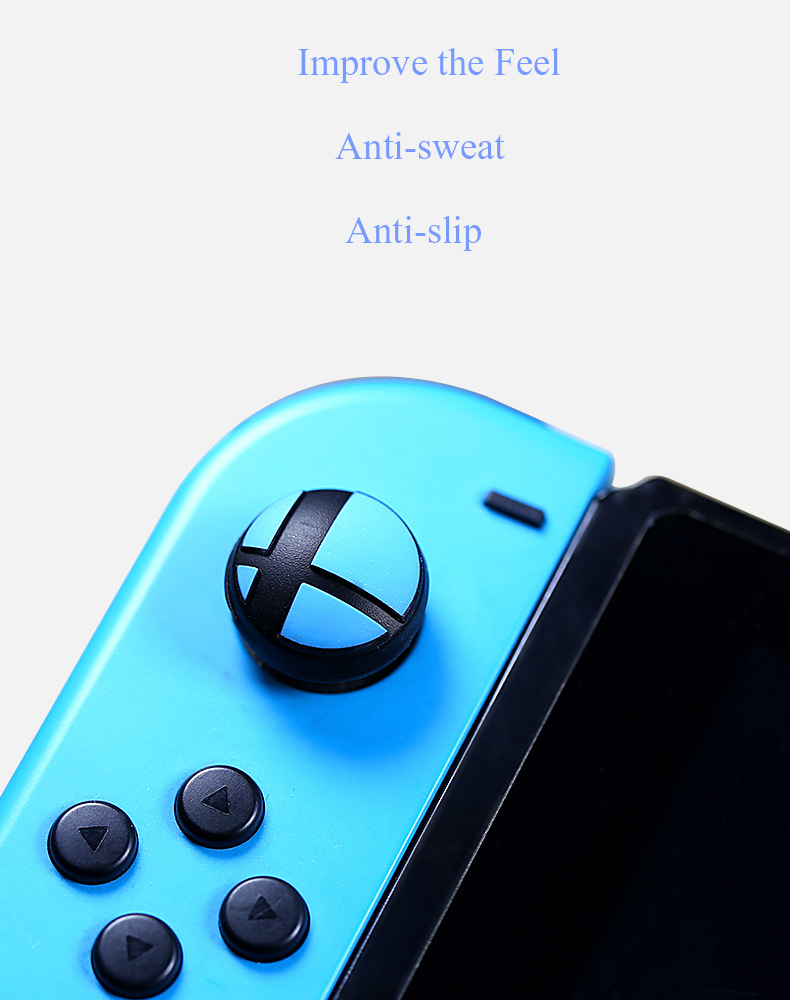 Anti-slip Silicone Rocker Button Cap Joystick Cover Caps for Nintendo Switch NS Game Console