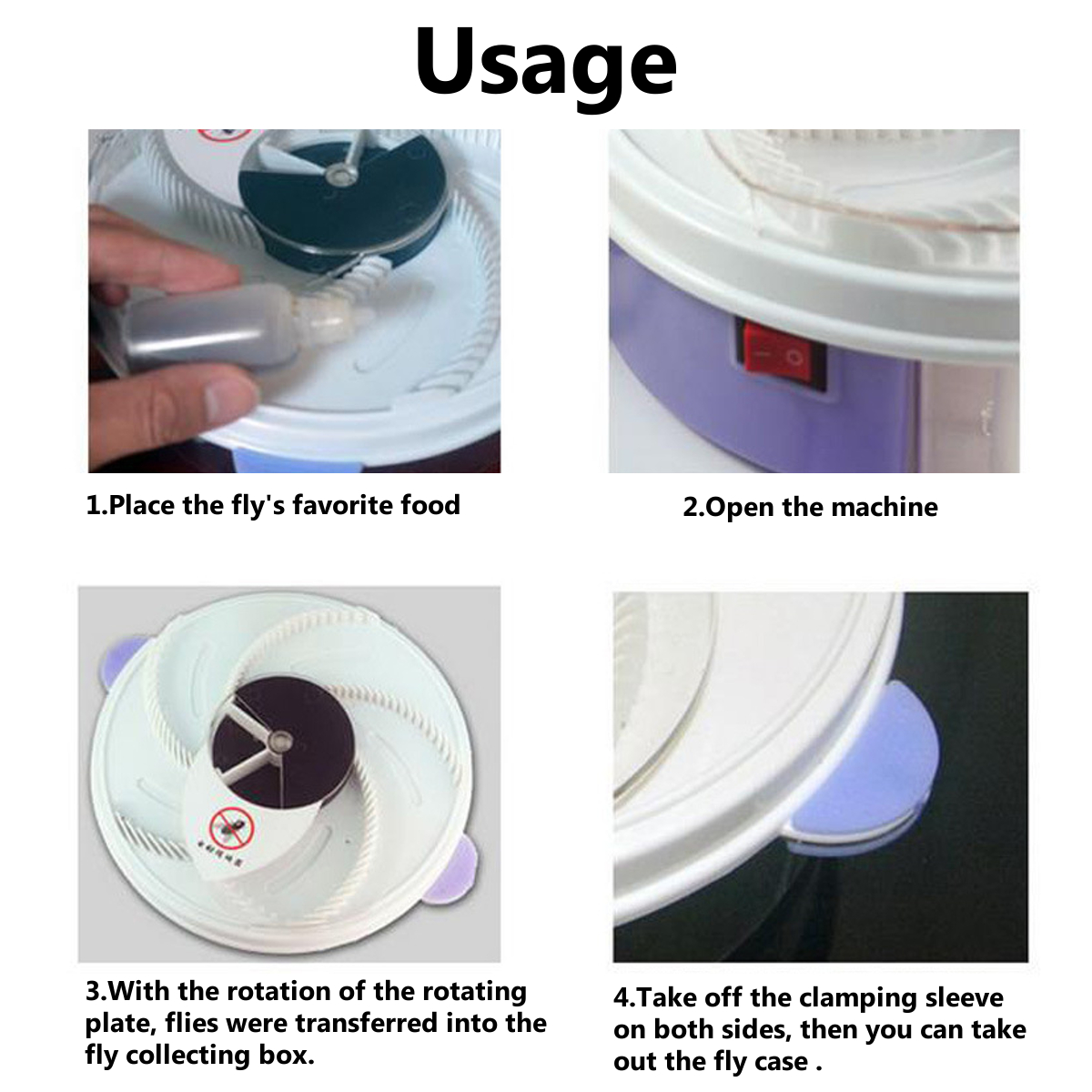 YE218 220-240V Eco-friendly Electrice Fly Trap Device Insect Mosquito Dispeller Buzz Killer Plate