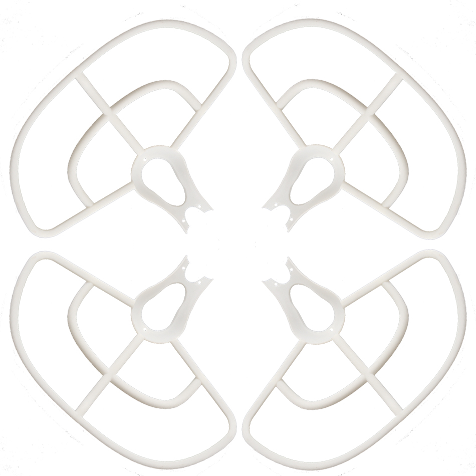 4PCS 3-blade Propeller Protector Guard Sets for BAYANG X16 X21 RC Drone Quadcopter Spare Parts