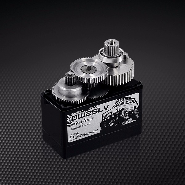 Power HD DW25LV Waterproof Servo Metal Gears Strong Torque For RC Crawler Truck RC Car Part