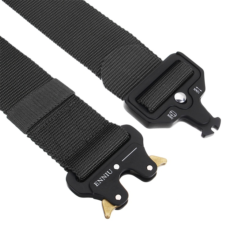 Army Tactical Protection Canvas Waist Belt Outdoor Hiking Cycling Fishing Waistband Belt