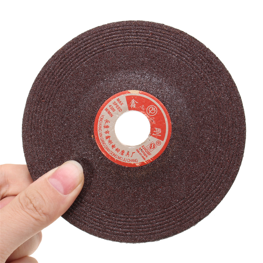 100mm Dia. 16mm Bore Resin Grinding Wheel Disc Abrasive Disc for Angle Grinder
