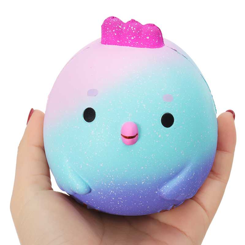SquishyFun Chick Squishy Chicken 10cm*9.5cm Slow Rising With Packaging Collection Gift Soft Toy