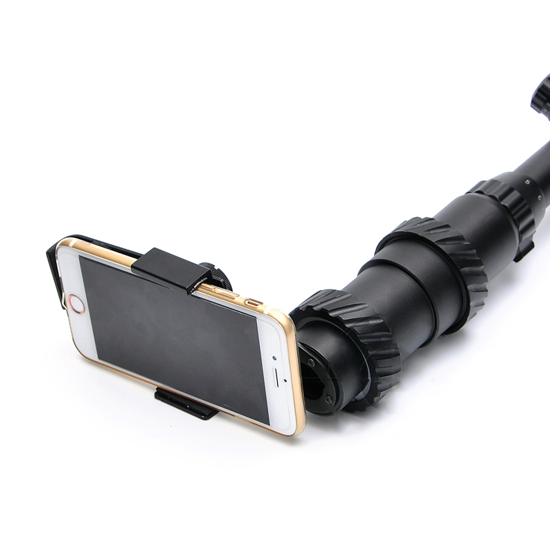BESTSIGHT 41-44MM Aluminum Alloy Camera Mount Phone Holder for Tactical Rifle Scope Hunting Sight
