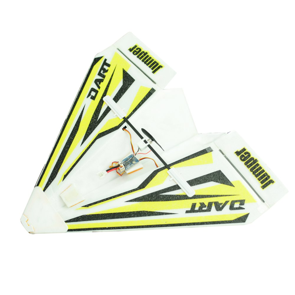 Jumper Dart 280mm Wingspan DIY Paper Plane RC Airplane Built-in Frsky D8 Compatible Receiver BNF