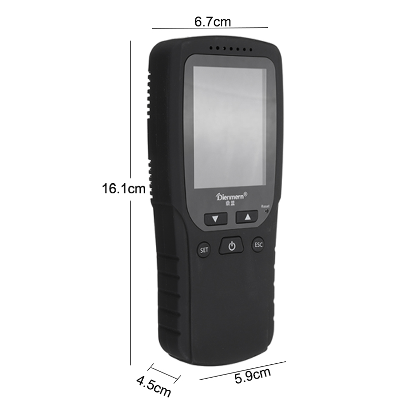 Multi-Functional LCD Formaldehyde TVOC Detector Gas Tester Monitor PM2.5 PM1.0 PM10 Tester
