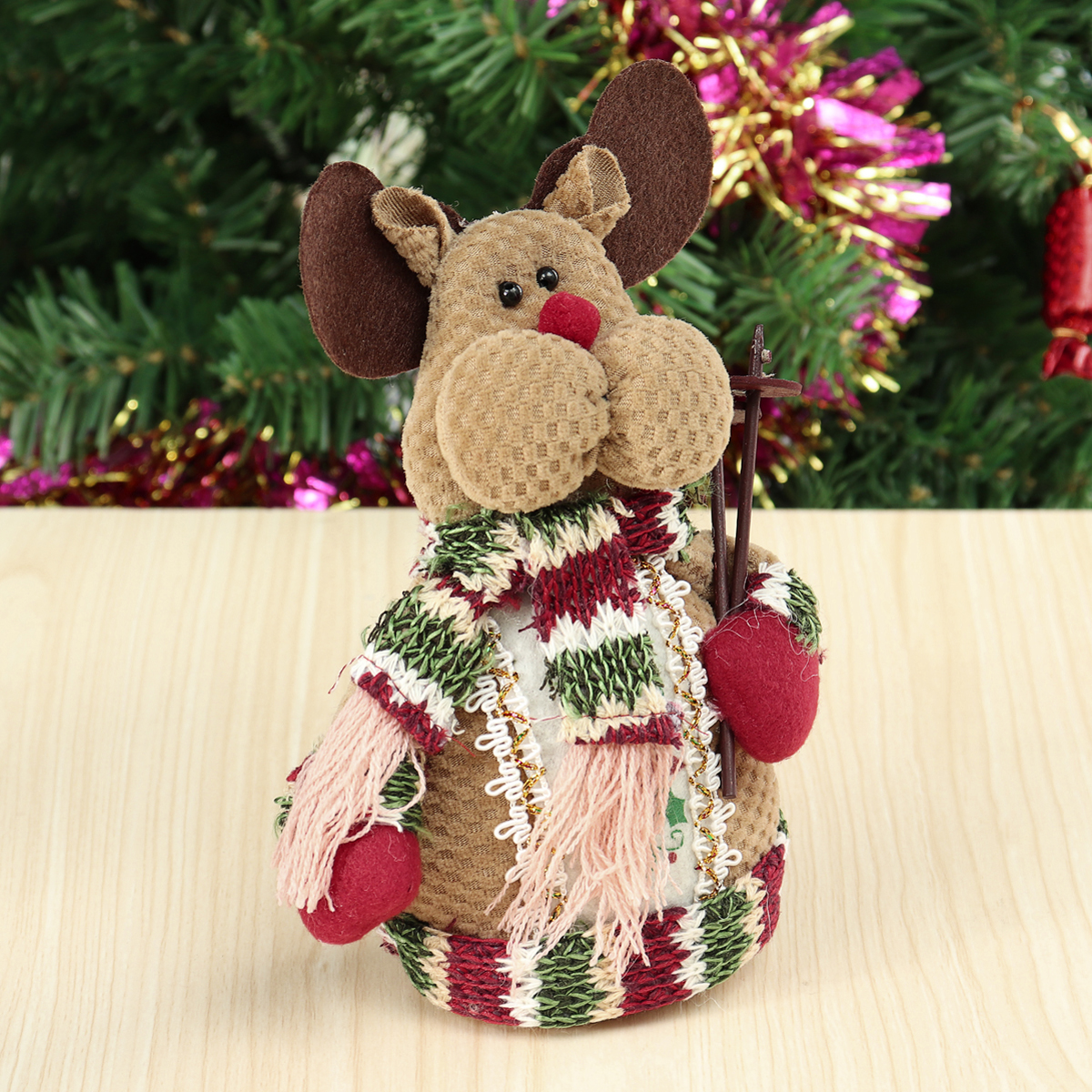 Old Man Snowman Elk Table Christmas Ornament Party Decor Gift Home Decorations