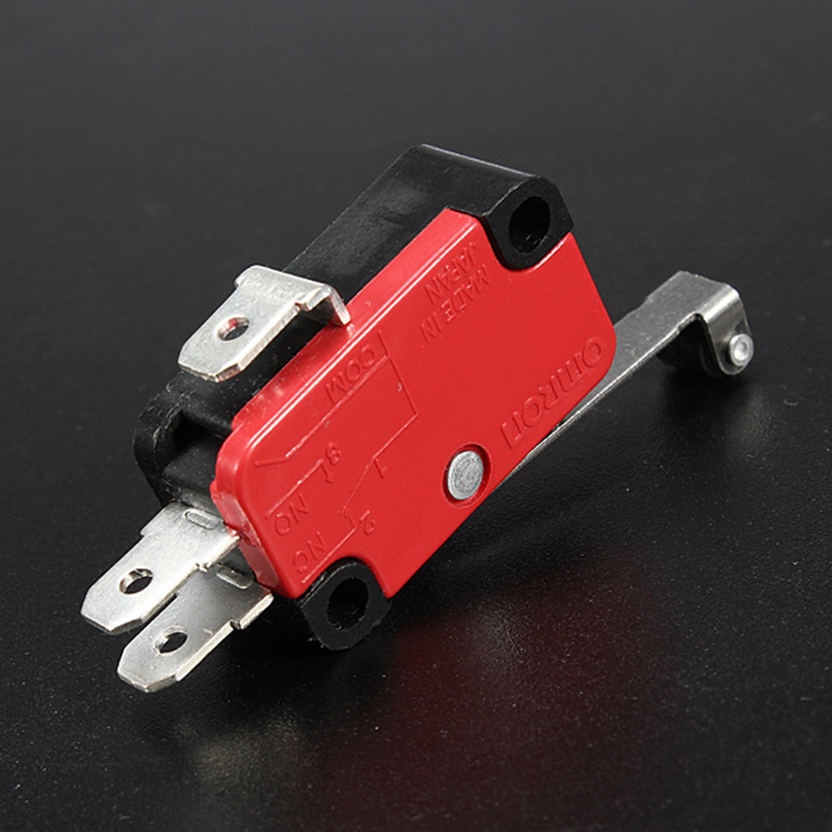 20pcs Micro Toggle Switch AC 250V 15A V-156-1C25 SPDT Roller Lever