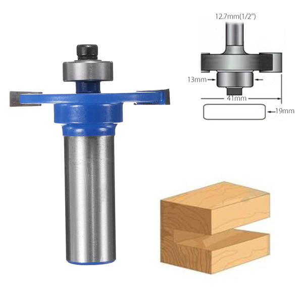 1/2 Inch Shank Biscuit Cutter Router Bit Jointing/Slotting Router Bit For Woodworking