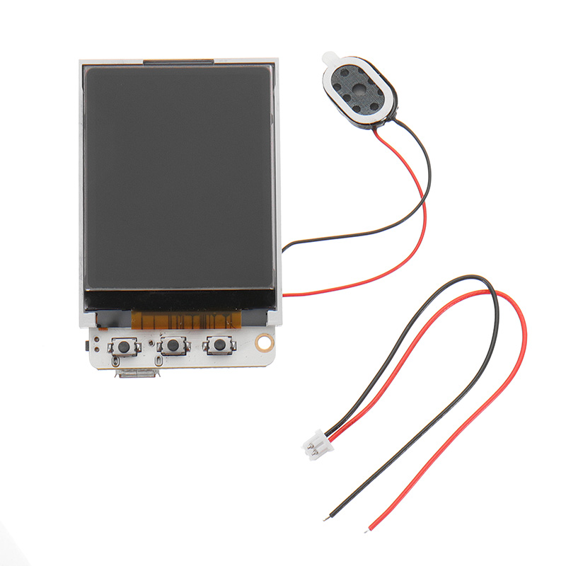Wemos® ESP32 TS V1.2 MPU9250 1.8 Inch TFT bluetooth Wifi MicroSD Card Slot Speakers Module