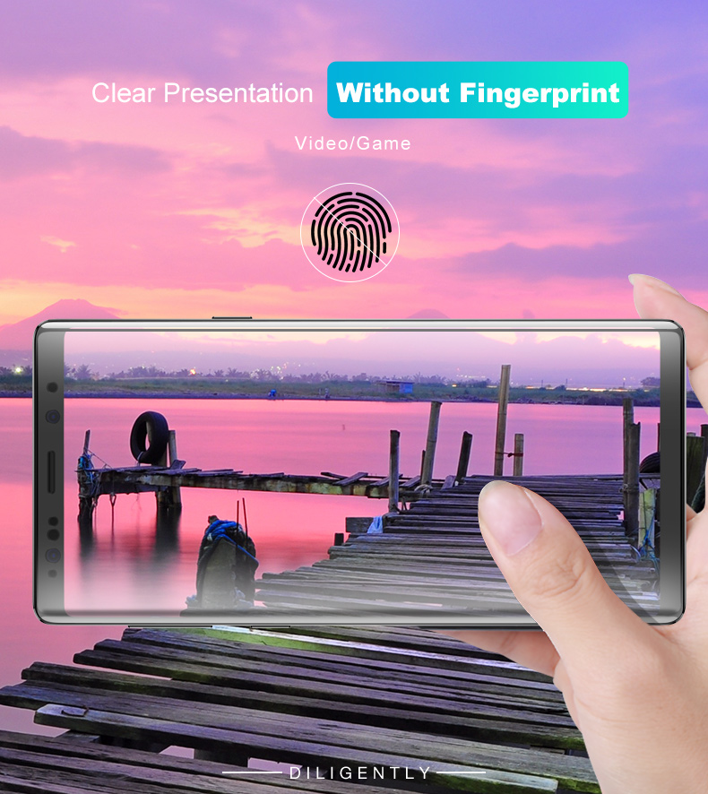 Cafele 9D Curved Edge Hydrogel Self-repairing Screen Protector With Installation Tools For Samsung Galaxy Note 9