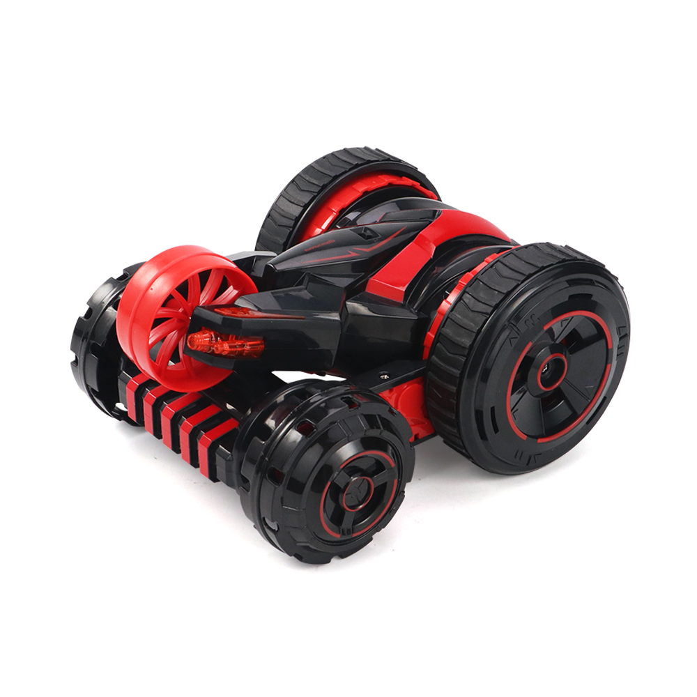 JJRC Q49 ACRO 2.4G 6CH Double-Sided Stunt Rc Car 360° Rotation All Terrain Vehicle W/ LED Light