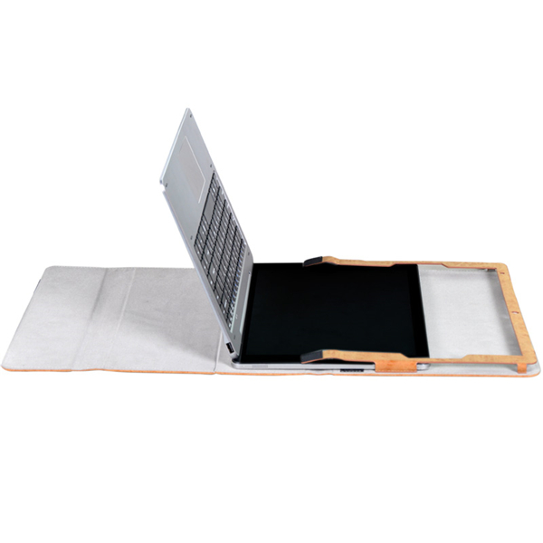 Folding Stand PU Leather Keyboard Case Cover for Chuwi Hi13 Tablet