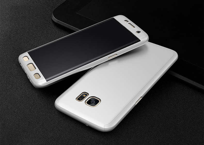 360° Full Body Soft HD Screen Protector+Hard PC Front+Back Case Cover For Samsung Galaxy S6/S6 Edge