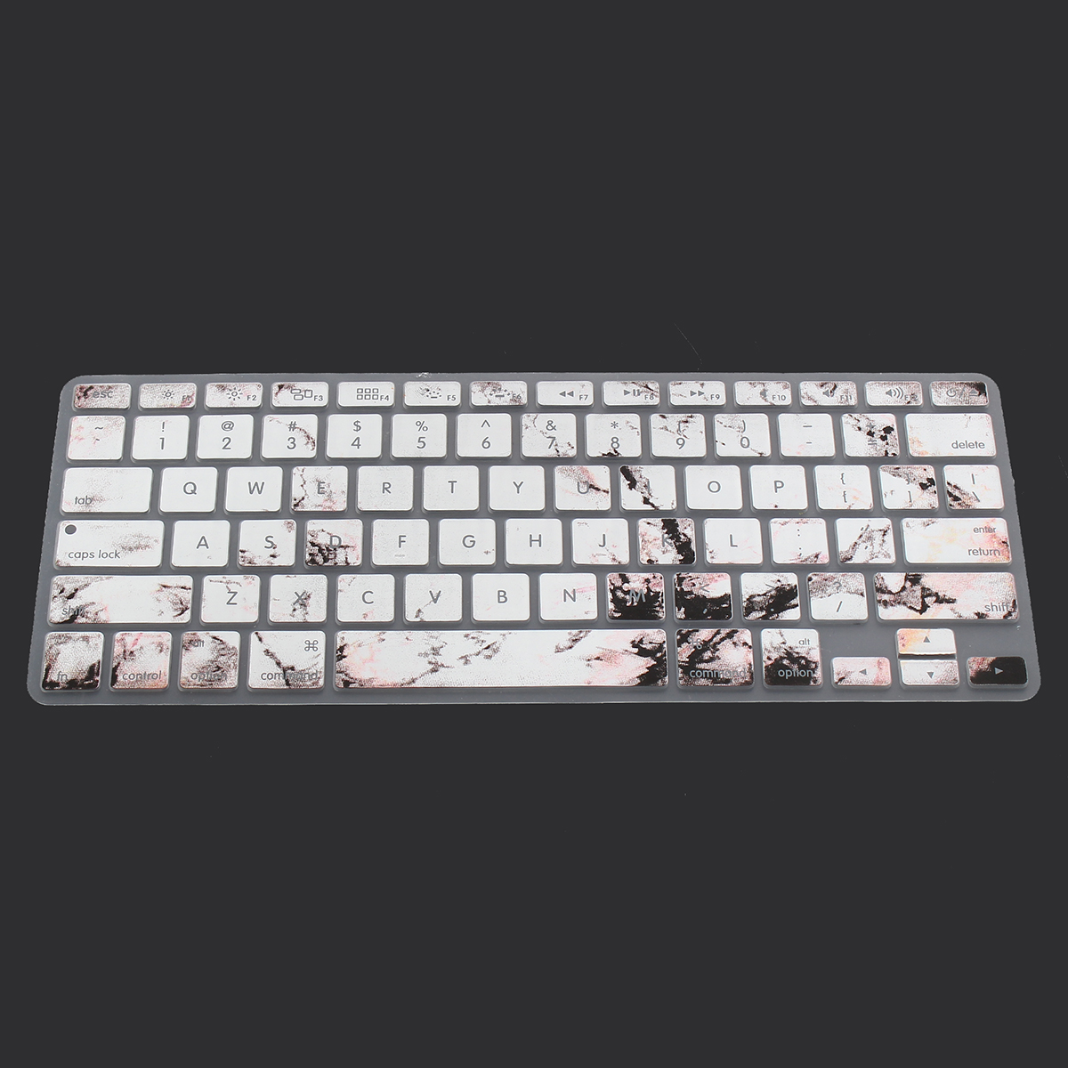 US Silicone Keyboard Skin Cover Protector for Macbook Pro 13