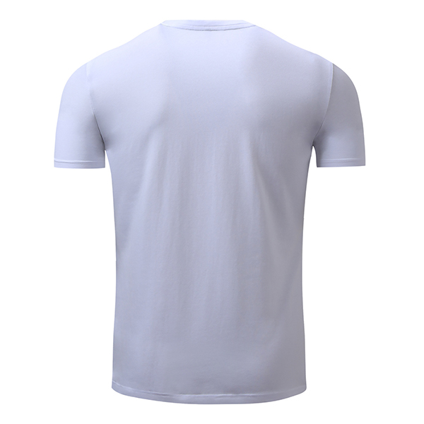 S-2XL Casual Cotton Letter Printing T-shirt Men's Round Collar Short Sleeve Tops Tees