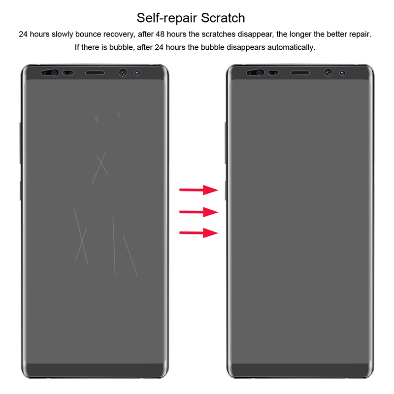 Enkay 0.1mm Clear Self-healing 3D Curved Hydrogel Screen Protector For Samsung Galaxy Note 8