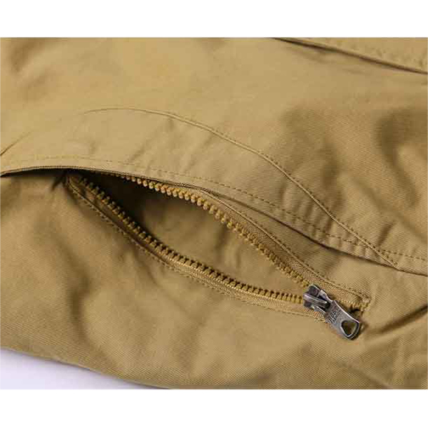 Thickening Warm Parka Jacket Stand Collar Mens Coat Cotton-padded Jacket For Men