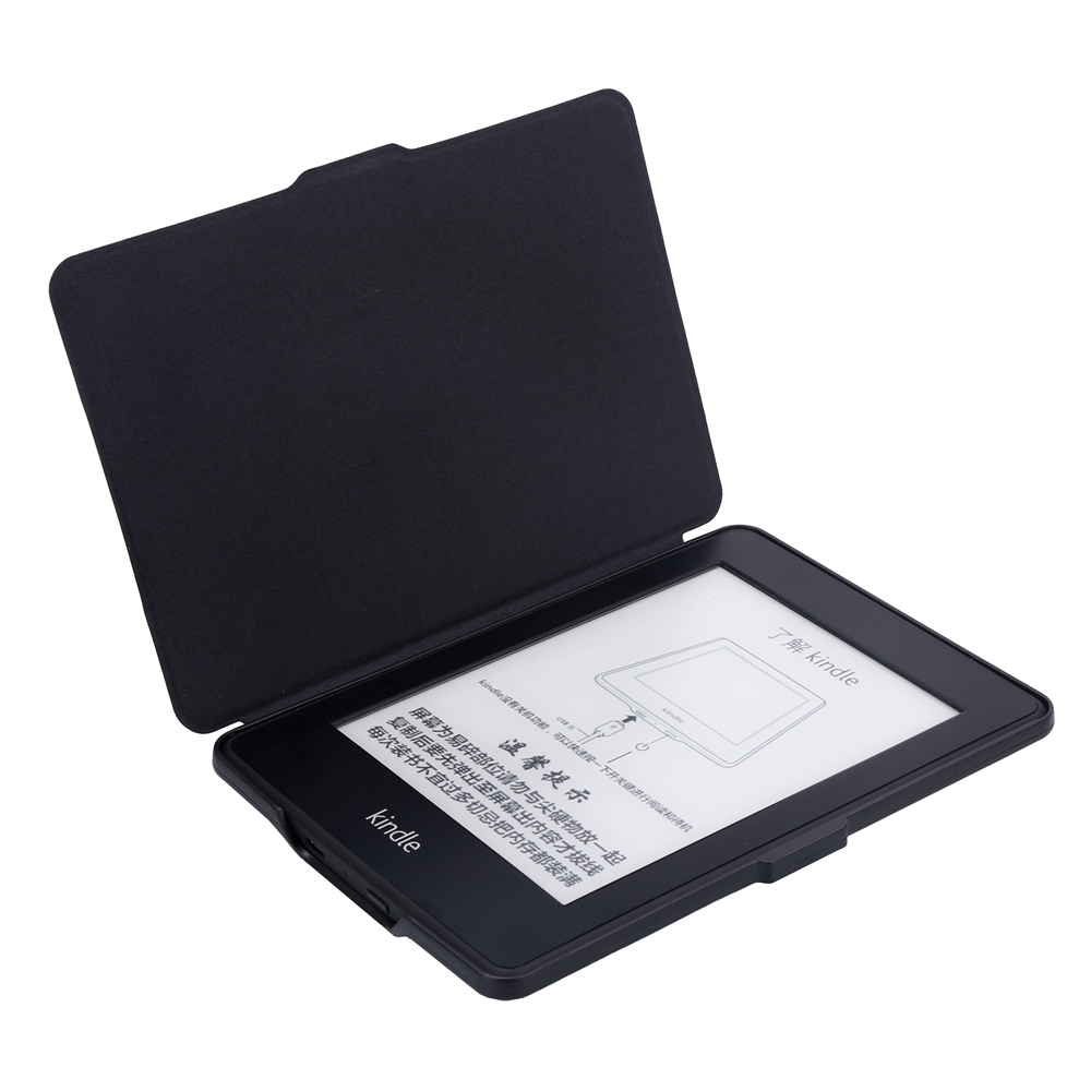 ABS Plastic Surf Painted Smart Sleep Protective Cover Case For Kindle Paperwhite 1/2/3 eBook Reader