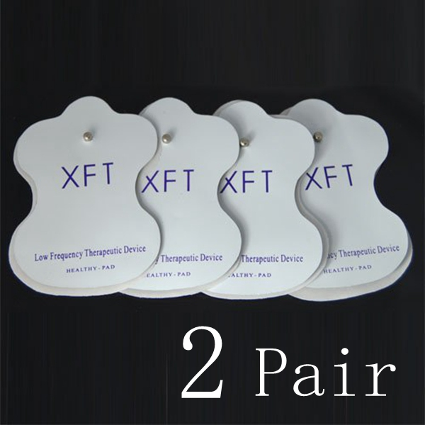 2 Pair Acupuncture Massager Adhesive Electrode Squishies Squishy Pad Replacement