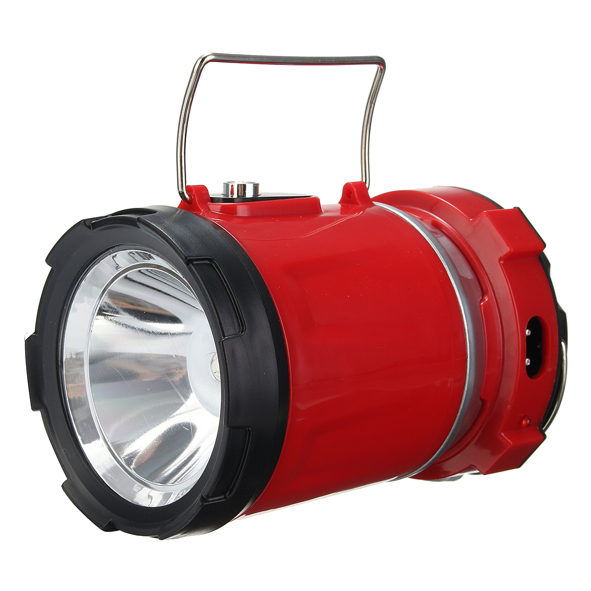 IPRee Portable Collapsible 5W LED Light Camp Solar DC R