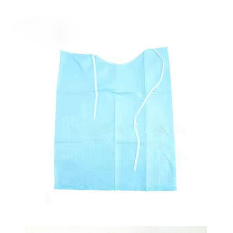 Disposable Anti Leakage Dental Scarf Bibs Horizontal Embossed Pattern