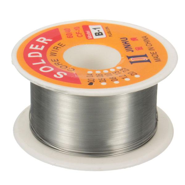 50g 0.3mm 60/40 Tin Lead Soldering Wire Reel Rosin Core Solder