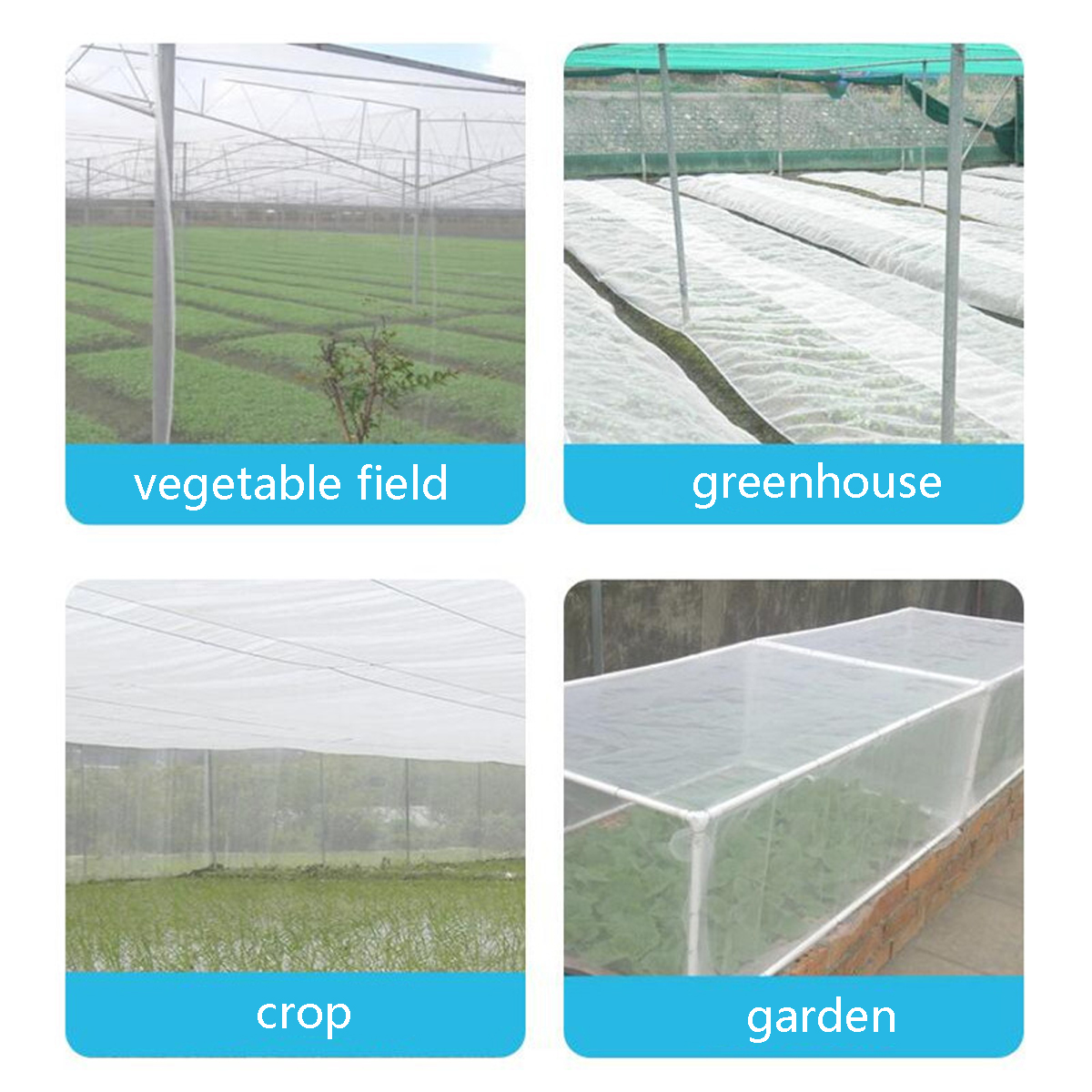 Garden Anti Bird Net Insect Netting Poultry Plant Vegetable Outdoor Crop Fruit Protective Mesh Net