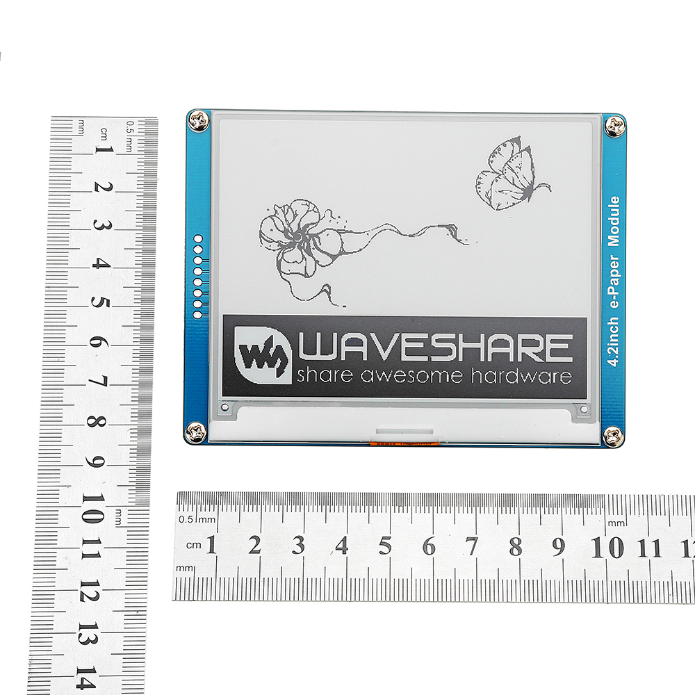 Waveshare® 4.2 Inch E-ink Screen Display e-Paper Module SPI Interface Black/White For Arduino Raspberry Pi