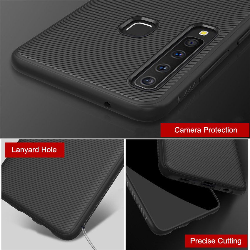 Bakeey™ Shockproof Soft TPU Back Cover Protective Case for Samsung Galaxy A9 2018