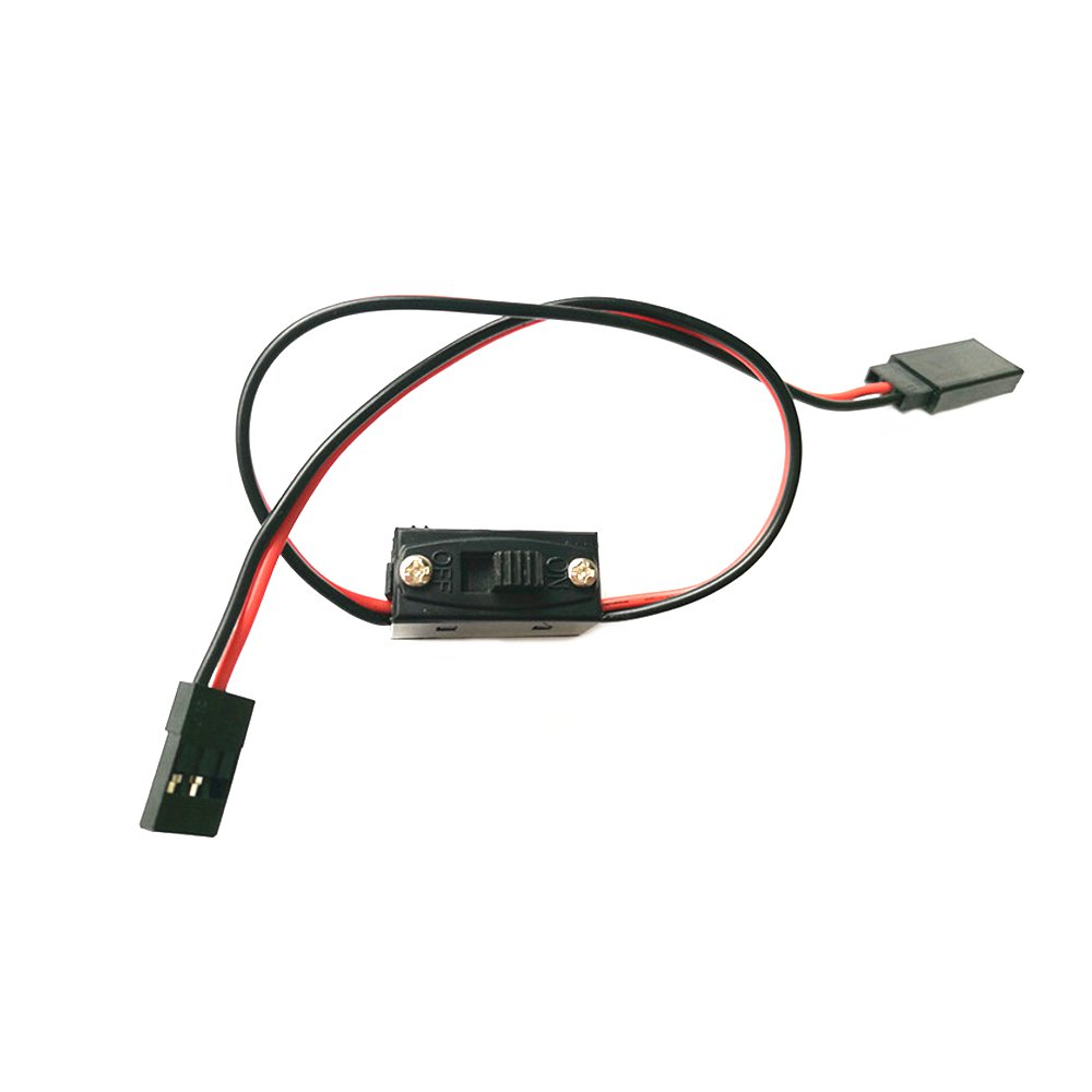 30cm Extension Cable With Switch For ESC Servo Receiver RC Airplane Racing Drone - Photo: 2