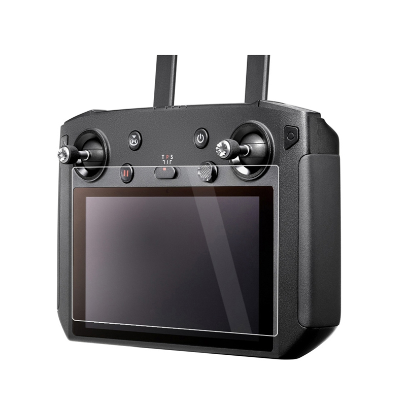 Junestar 5.5in Screen Protective Film Anti-scratch HD Protector for DJI MAVIC 2 Smart Remote Controller - Photo: 2
