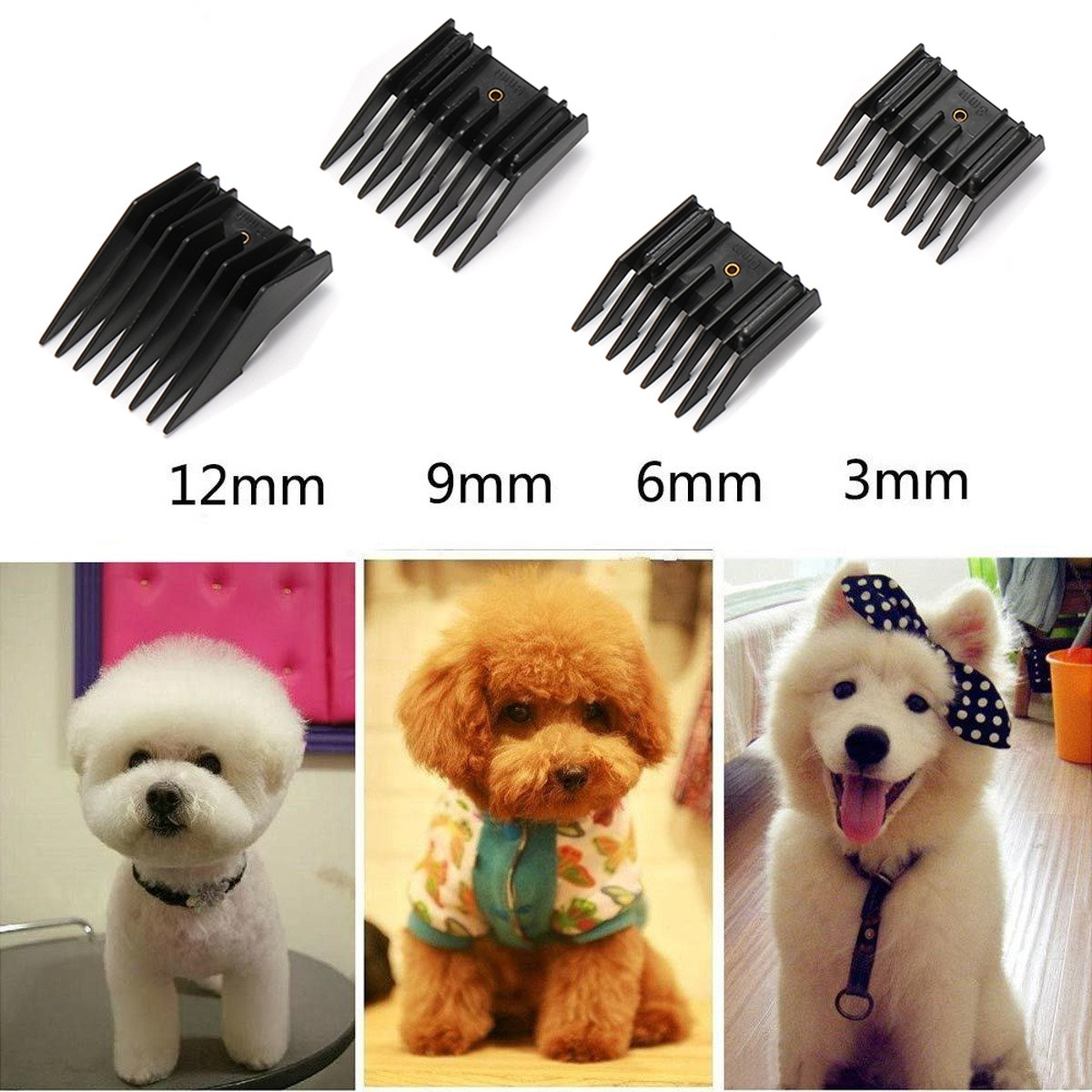 110-240V Electric Animal Pet Dog Cat Hair Trimmer