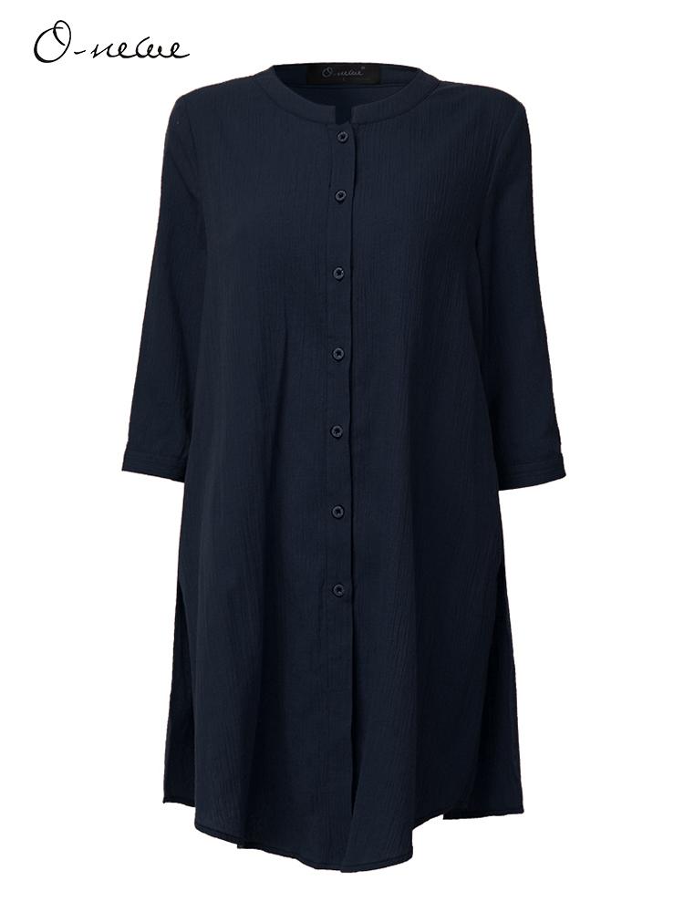 Women Mori Girl Solid Half Sleeve Split Cardigans