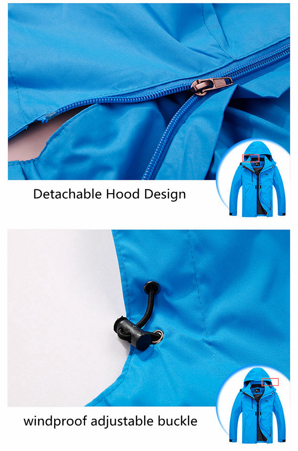 Outdoor Sports Water Repellent Windproof Breathable Wearable Jacket